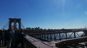 Brooklyn Bridge und River