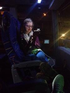 Im Bus...