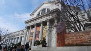 Natural History Museum nur von außen...