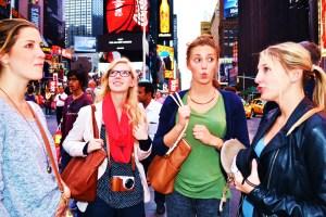 Geflasht von New York!
