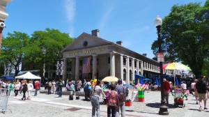 Quincy Market outside