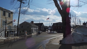 Downtown Kennebunkport.