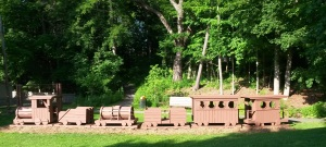 The Wooden Train